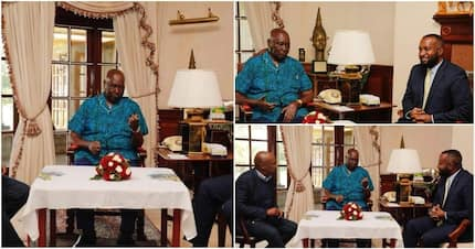 Governor Joho holds closed-door meeting with ex-president Moi at his Kabarak home