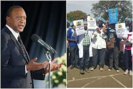 Where Uhuru was as ODM lawyers secured doctor's officials release
