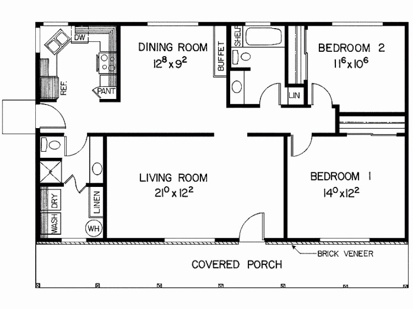 Simple Two Bedroom House Plans In Kenya Tuko Co Ke,300 Square Foot Apartment Layout