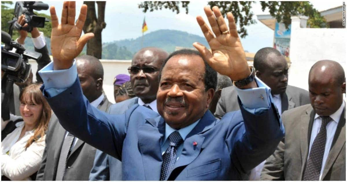 85-year-old Paul Biya re-elected president of Cameroon for seventh term