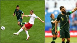 Denmark and Australia share spoils in hard fought 1-1 World Cup group C fixture