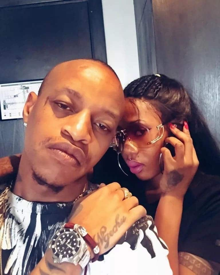 Rapper Prezzo and ex Tanzanian lover reunite months after bitter break up over sex tape
