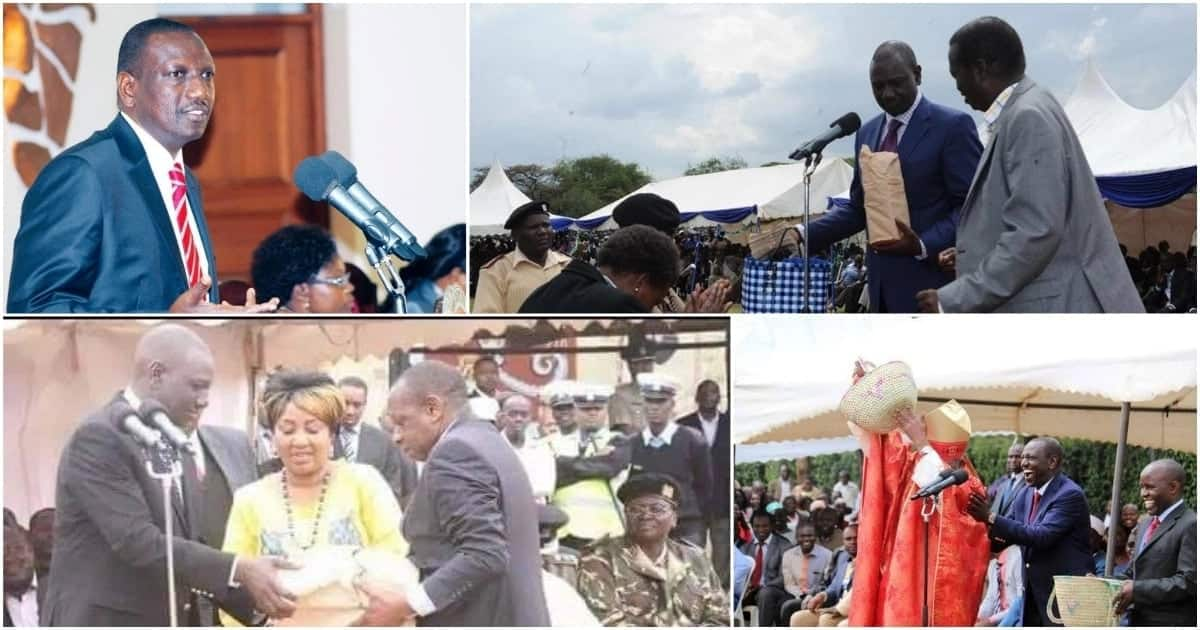 William Ruto claim critics of his huge church donations spend their time drinking in bars