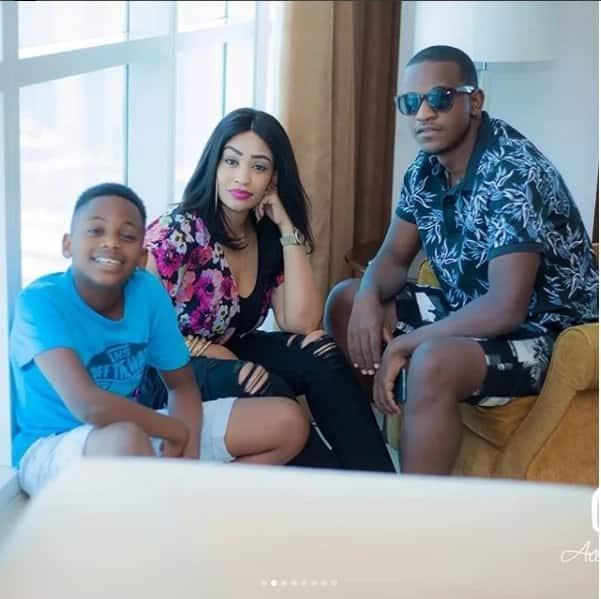 X photos of Zari and family living it up in Dubai weeks after dumping Diamond Platnumz