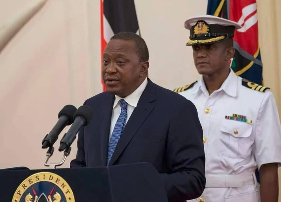 History made as Uhuru gets first ever bodyguard from Kenya Navy