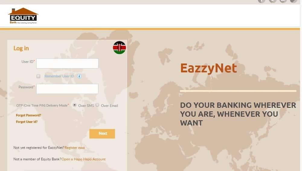 Equity bank Kenya online banking