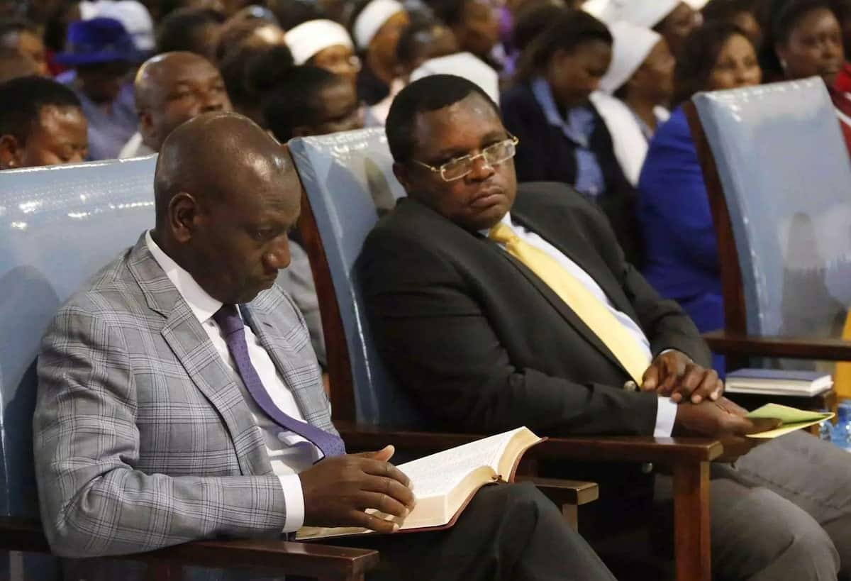 William Ruto delivers KSh 8 million at church fundraiser