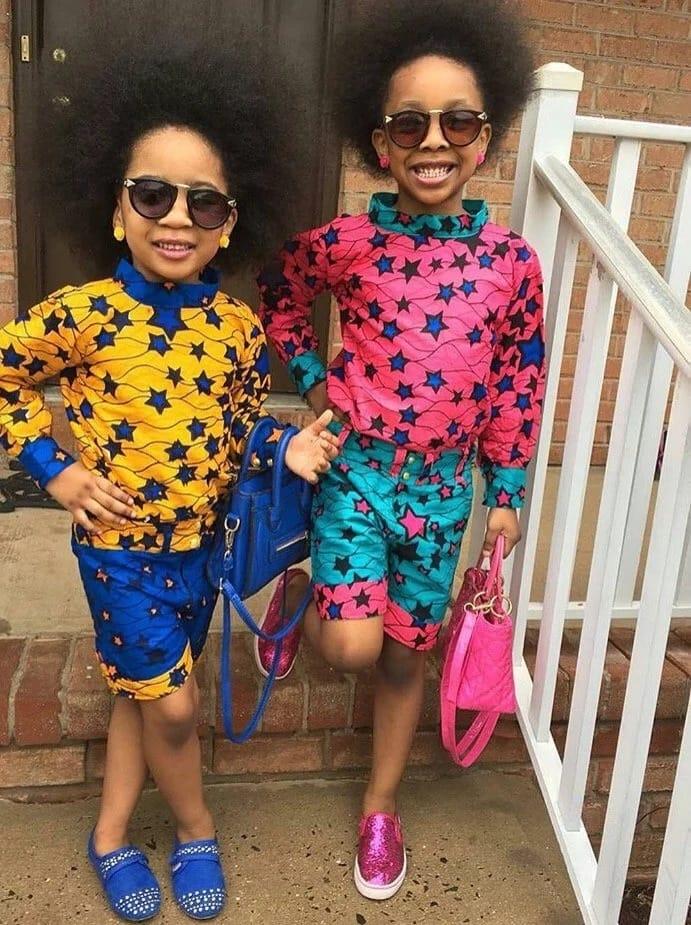 Latest Kitenge designs kids