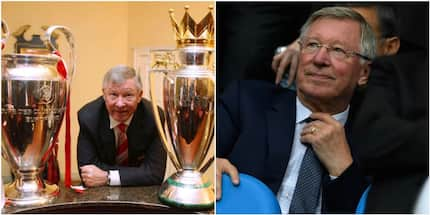 Alex Ferguson banned from attending Man United games by his doctors