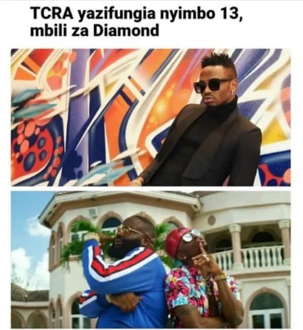 Big blow for Diamond as Tanzanian government bans his international collabos 'Hallelujah and Wakawaka'
