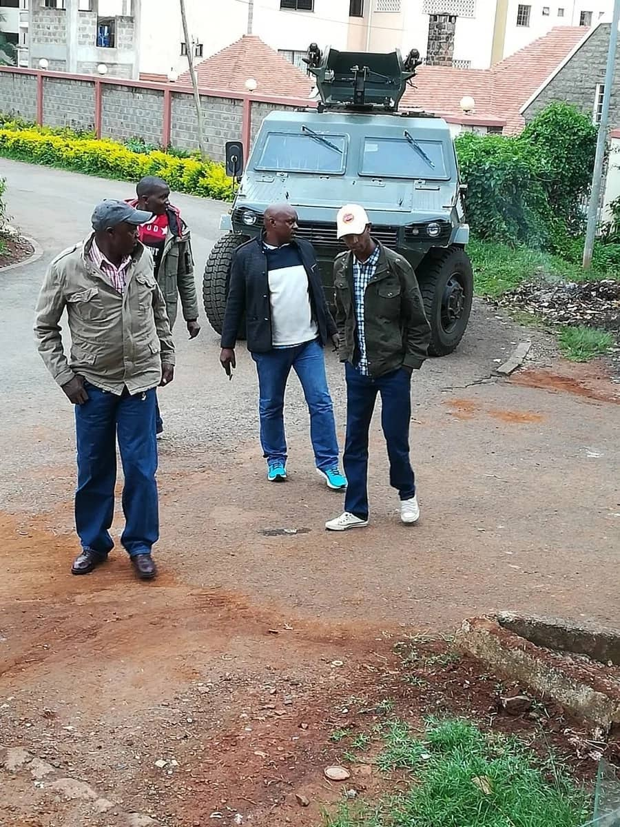 Raila Junior slams police for barricading Jacaranda grounds to block NASA rally