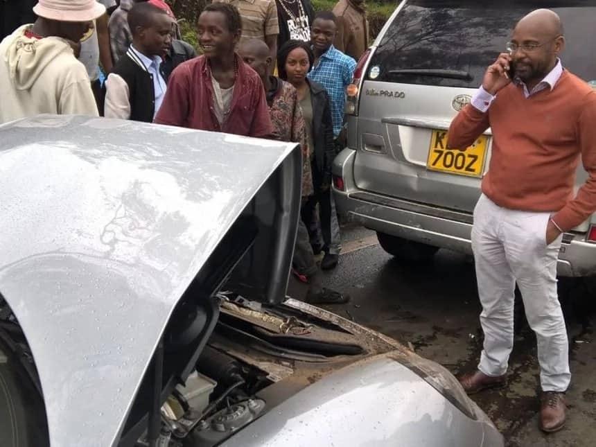 Video inayoonyesha nyakati za mwishomwisho zake Macharia na gari lake laibuka
