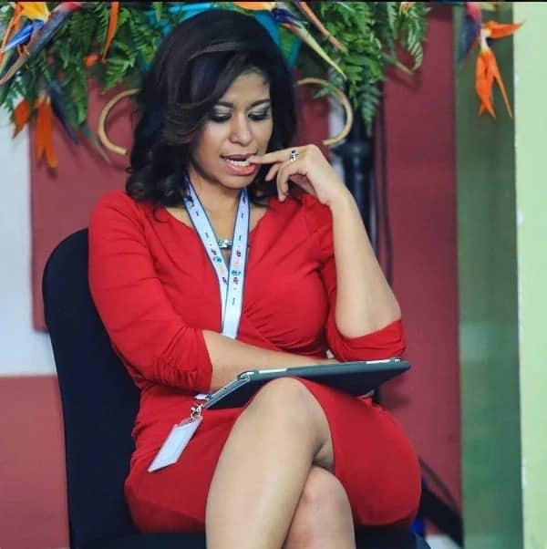 Julie Gichuru angered by bloggers claiming she peed on herself