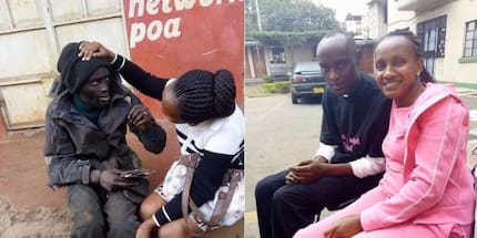 The transformation of this Nairobi street kid a few days after getting into rehab is absolutely moving
