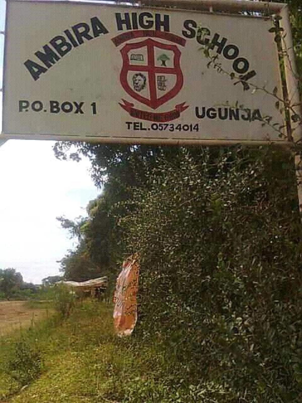 Viral video of Ambira High School students insulting CS Amina Mohammed, Matiang'i after KCSE exams