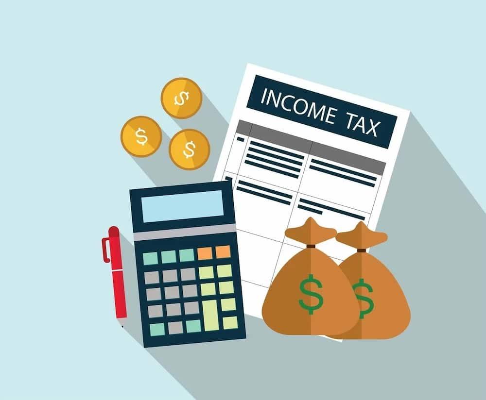 income tax vector