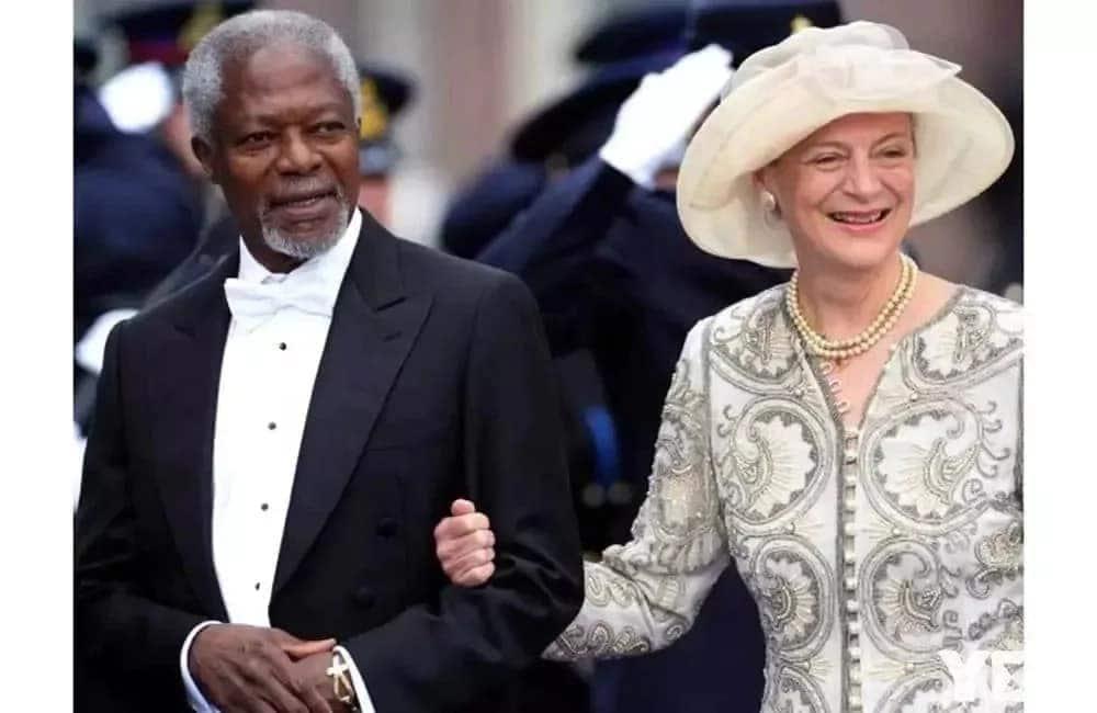 Ujumbe wa mkewe Kofi Annan wakati wa mazishi yake