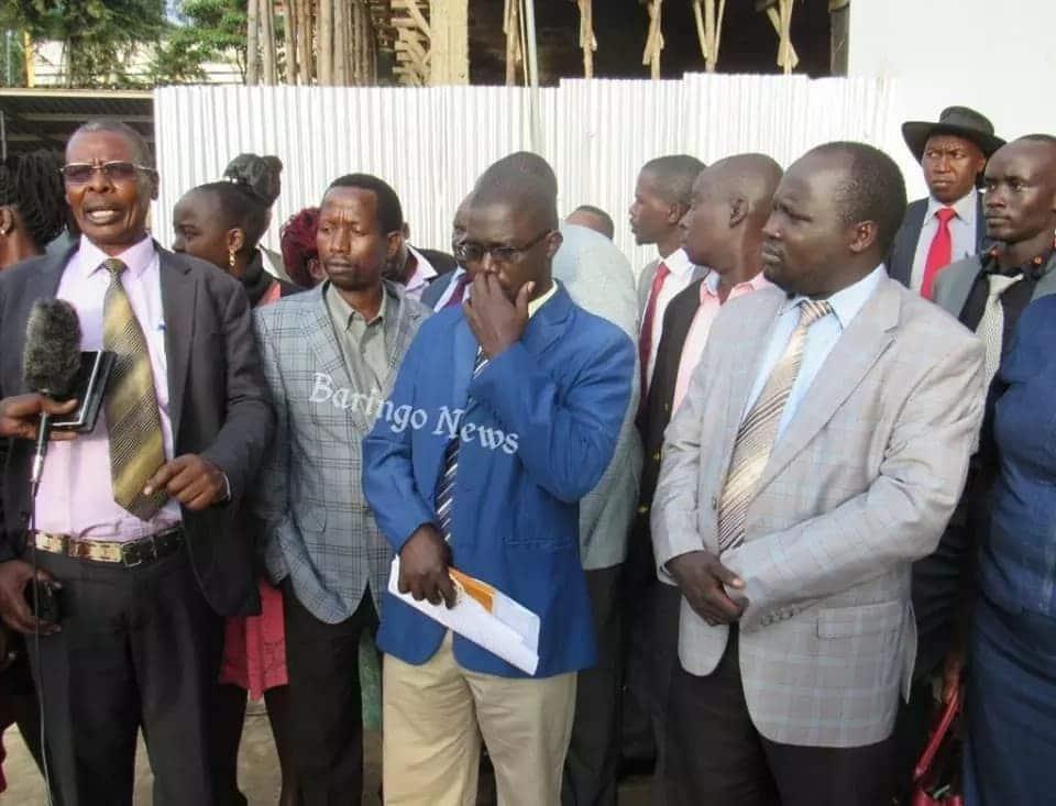 Baringo MCAs demands guns following kidnapping of colleagues