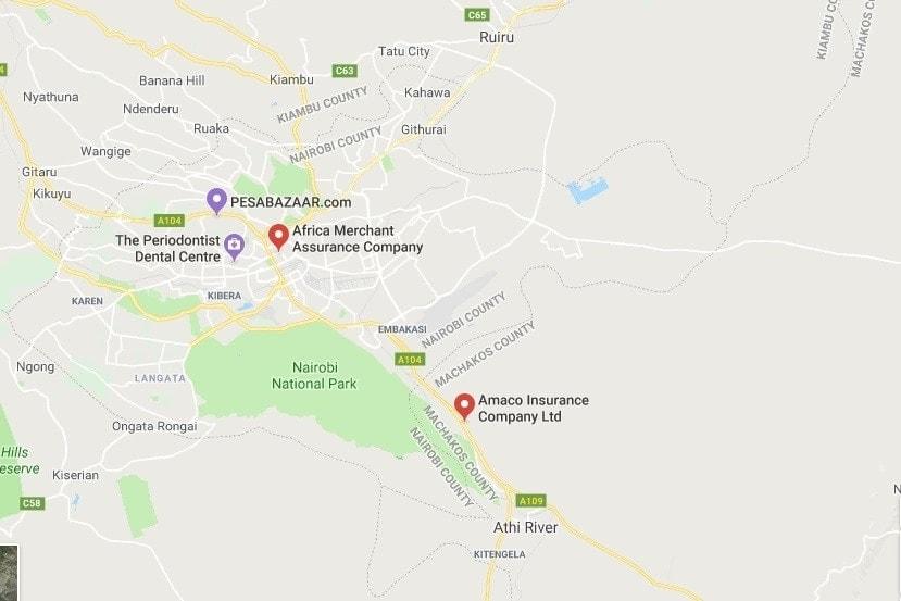 AMACO insurance contacts, AMACO insurance Nairobi contacts, AMACO insurance Kenya contacts
