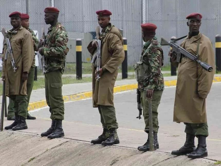 Government deployed over 100 police officers to eject Miguna from JKIA
