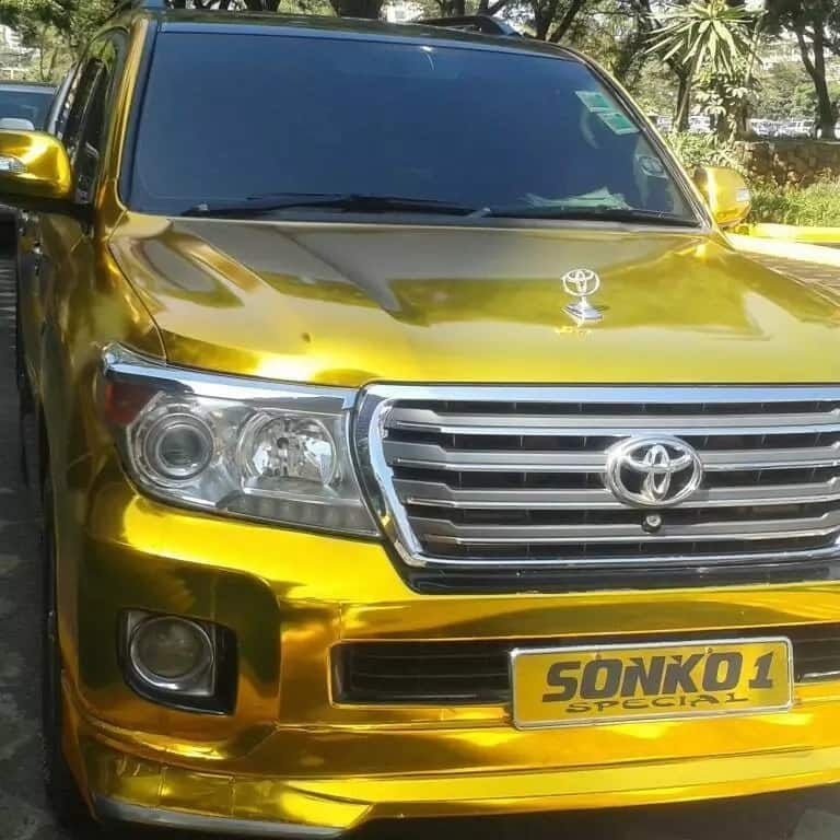 The cars cost in excess of Ksh8m each