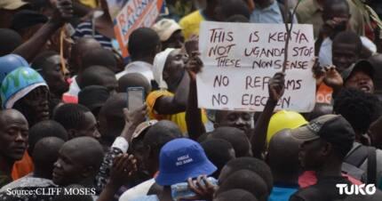 Hivi ndivyo maandamano ya NASA yalikuwa Nairobi(Picha)