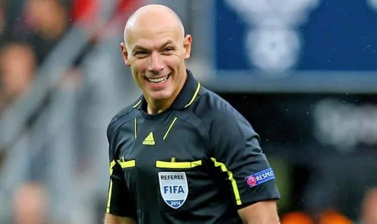 No British referee chosen for 2018 FIFA World Cup in Russia