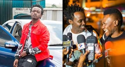 Gospel singer Bahati cries foul, reveals how hot Tanzanian actress duped him into wasting cash