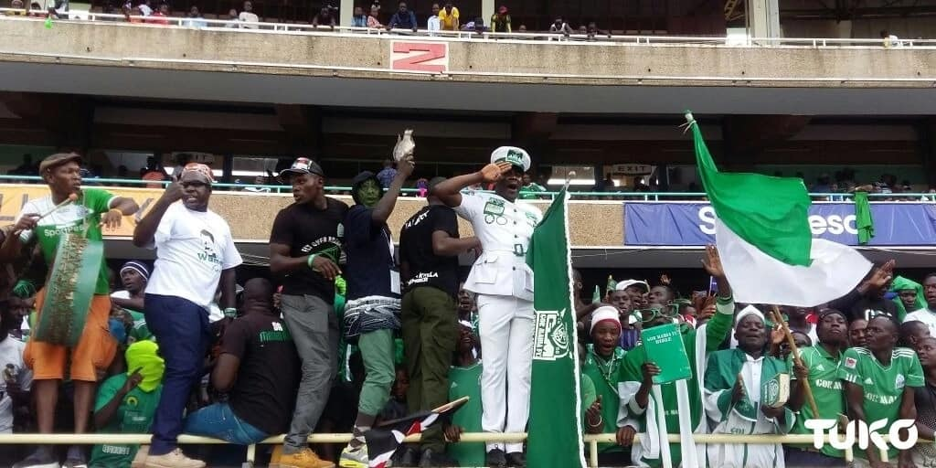 Kasarani stadium fully packed as Kenyans turn up for mouthwatering clash between Gor Mahia and Hull City