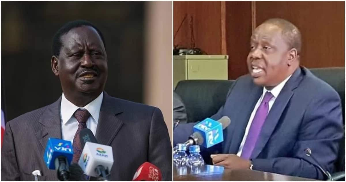 Former Prime Minister Raila Odinga reacting to remarks that were made by Interior CS Fred Matiang'i when he appeared before Security Committee on April 3, 2018, to answer questions relating to Miguna Miguna's deportation and citizenship saga.