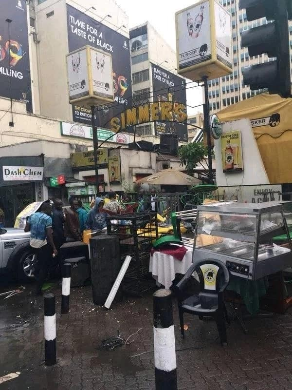 Popular Simmers restaurant in Nairobi CBD closed by Nema and City Hall Enforcement Unit over noise pollution
