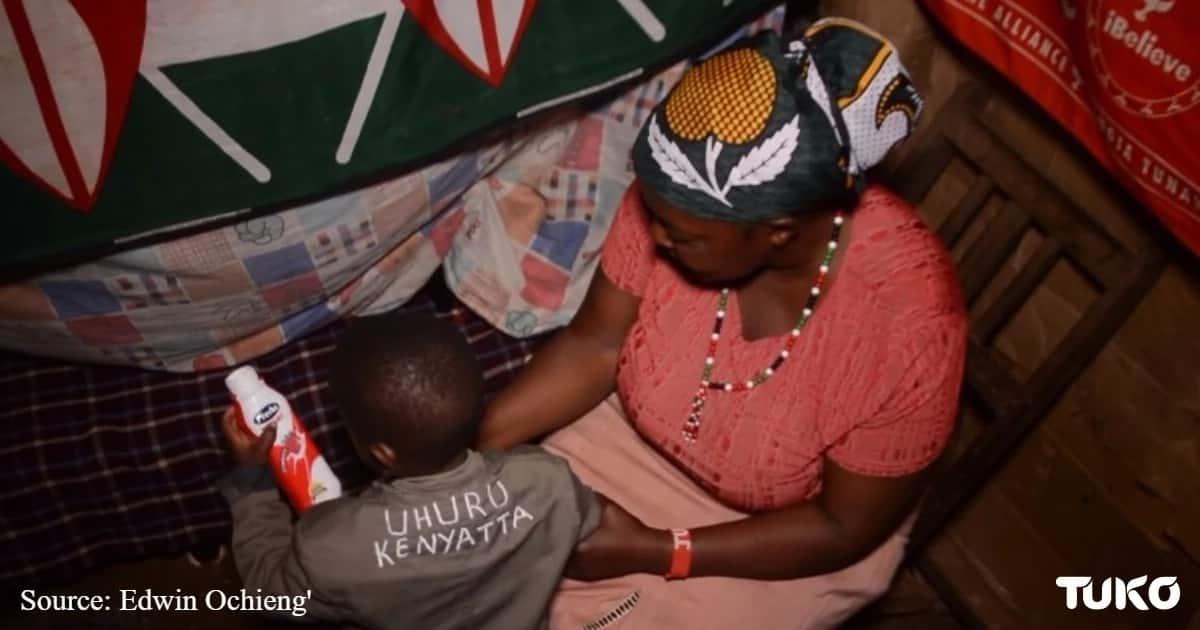 My mother, husband abandoned me for naming baby Uhuru Kenyatta - Nyeri mum narrates ordeal