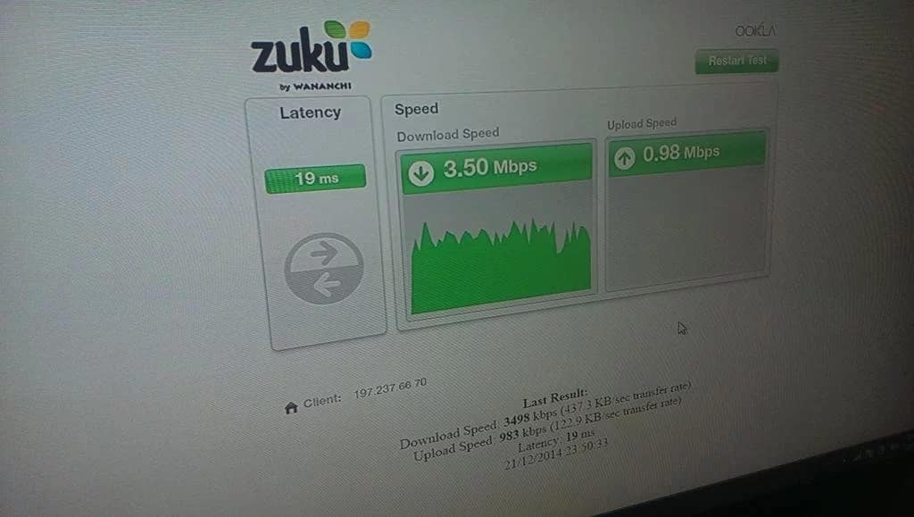 How to Use and Understand Zuku Internet Speed Test