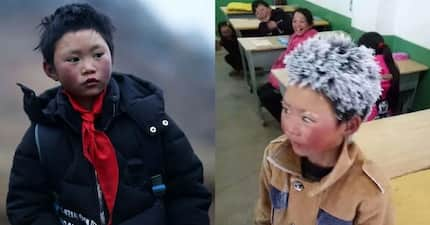 Frost Boy: Community helps 8-year-old Chinese boy whose hair was frozen after his walk to school