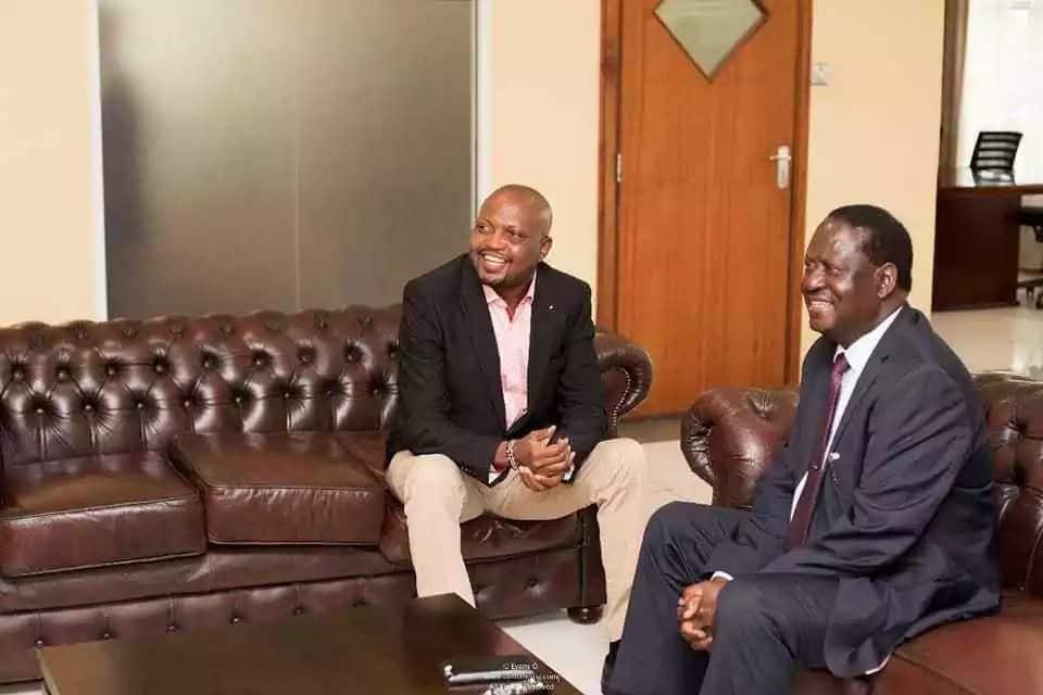 Kuria Amtania Raila, Asema Yuko Tayari Kumsaidia Kutatua Mgogoro Ndani ya ODM ▷ Kenya News