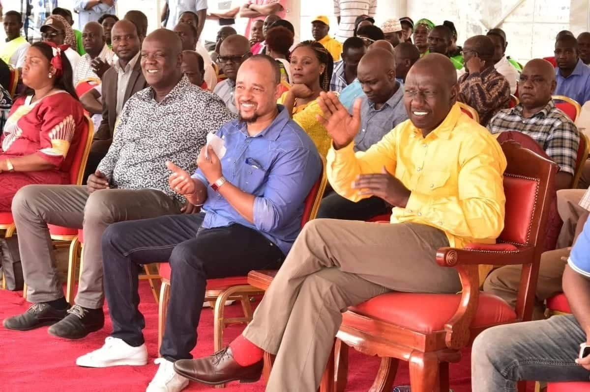 I am not a watchman or cook but deputy president - Ruto defends his political tours