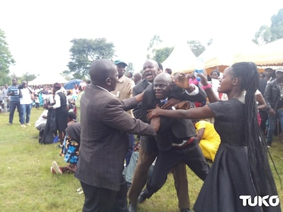 Family condemns father who was fighting with another man at a Bungoma funeral