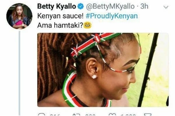 Betty Kyallo's fans cannot stop reminding her of her affair with Hassan Joho
