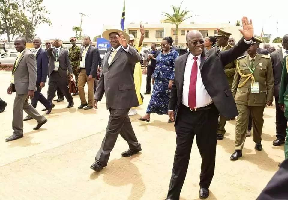 Museveni and Magufuli enter deals that underline their continued isolation of Kenya