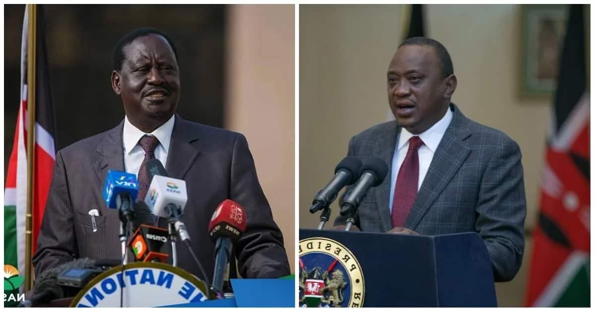 Raila accuses Uhuru of plotting to eject CJ David Maraga from office