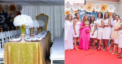 Gospel singer Daddy Owen does what few man can do, throws wife lovely surprise baby shower
