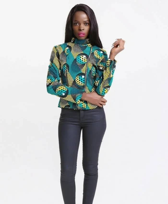 Trendy ankara jacket styles for ladies 2018