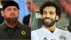 Mohamed Salah sparks controversy after posing with Chechen leader Ramzan Kadyrov in Russia