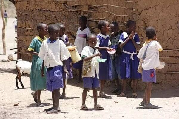 Baringo County: Where pupils go to school because of food