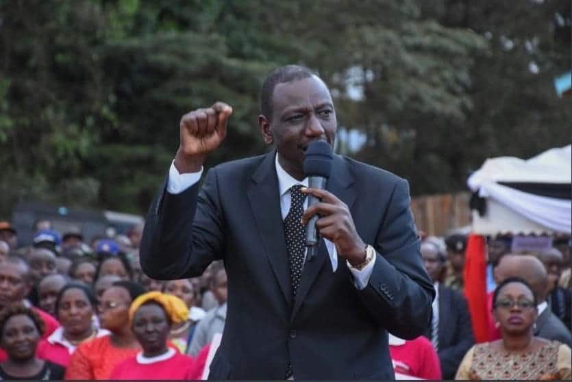 William Ruto sees ODM's hand in opinion poll ranking him as most corrupt leader