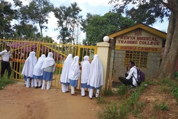 Mwingi medical students turned away after arriving to school dressed in hijabs