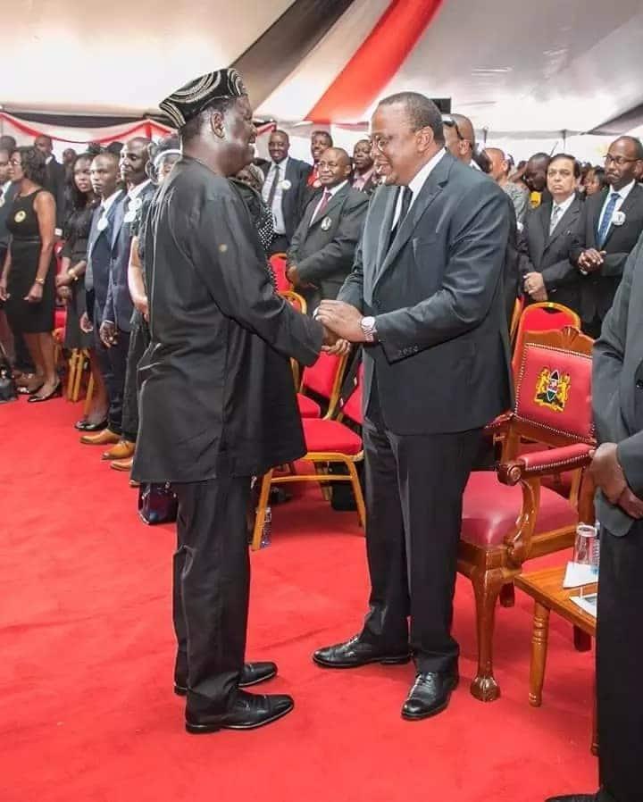 Raila Odinga asema alichagua salamu kama njia ya kuwafikisha wafuasi Canaan