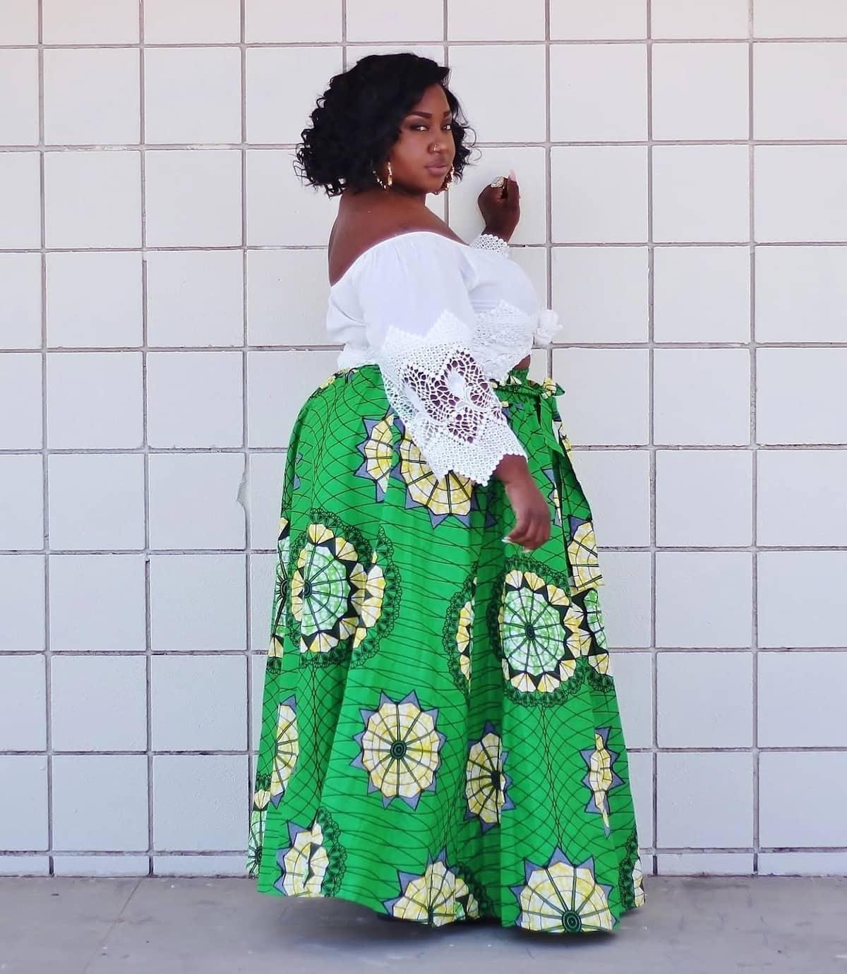 61003fdaebe 2018 Trends Of African Print Dresses For Plus Size Ladies ▷ Tuko.co.ke