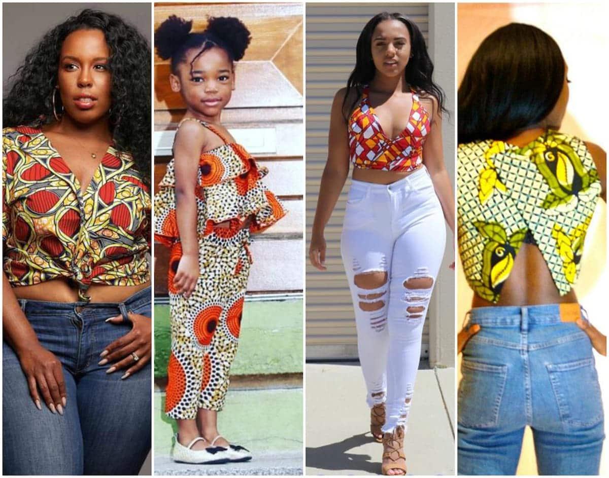 605322dccd8f1a African print crop tops styles ▷ Tuko.co.ke