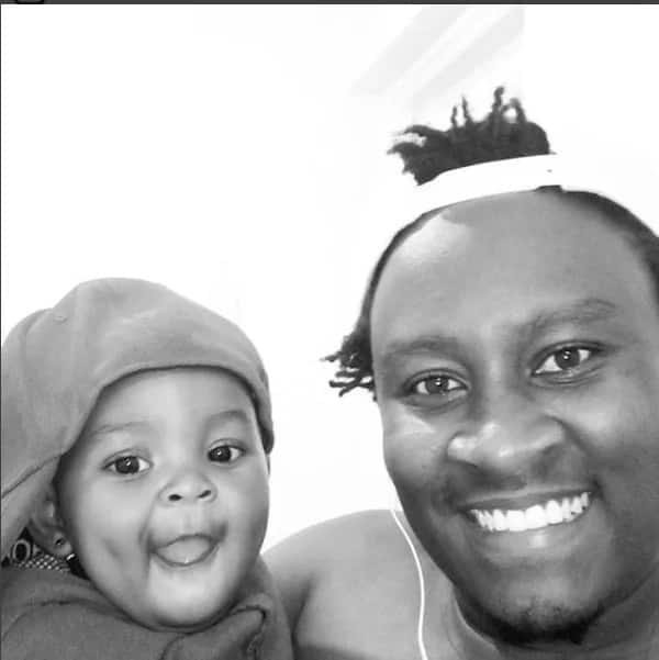 17 photos of former Tahidi High actor's beautiful family including his adorable look-alike daughter